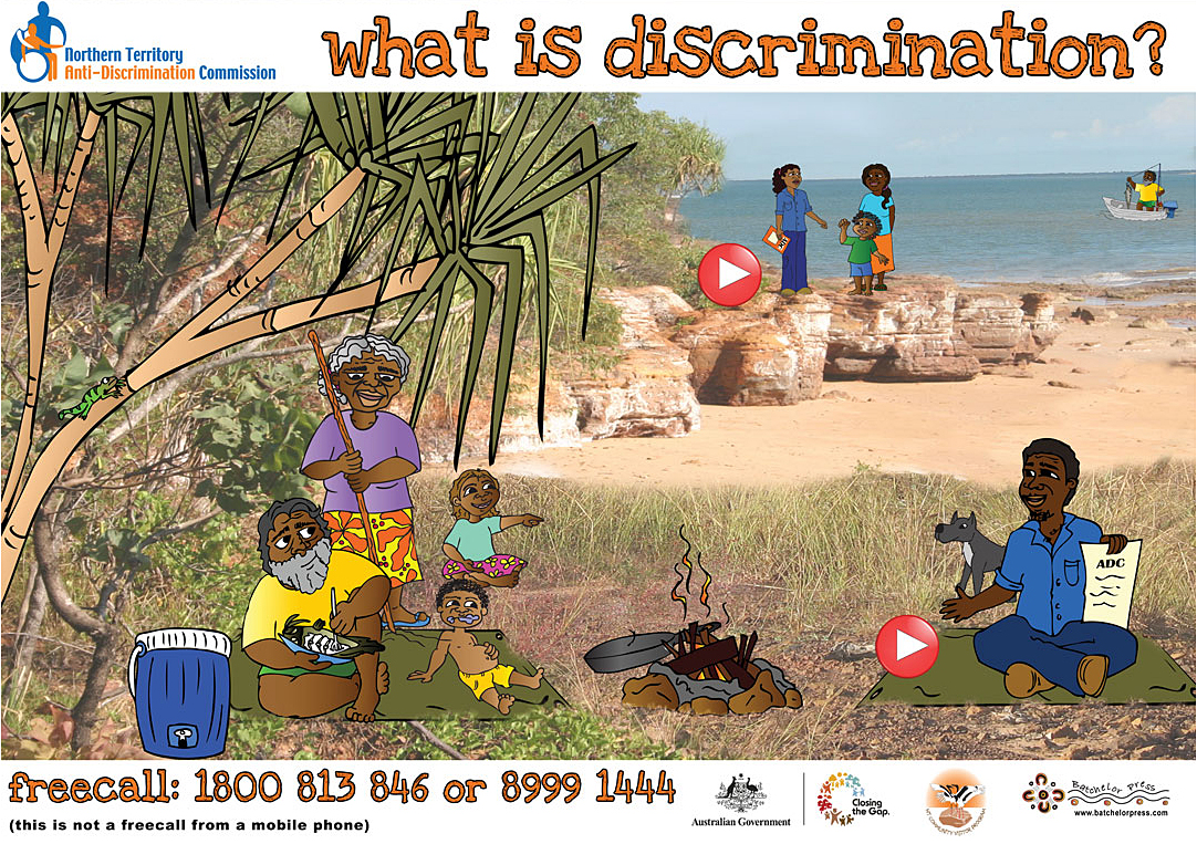 Talking poster - what discrimination